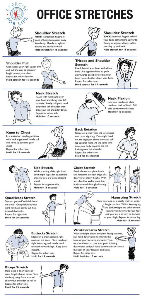office stretches 2