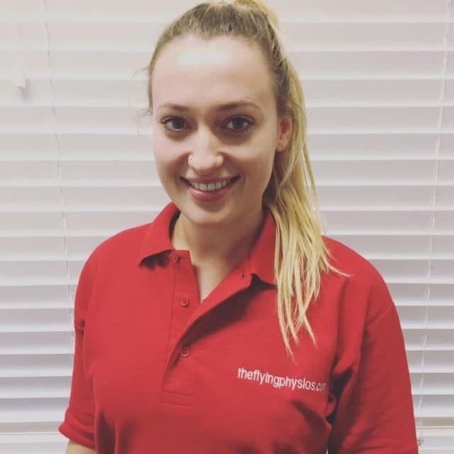 Lucy Bell | Physiotherapist | The Flying Physios | Hertfordshire | Buckinghamshire
